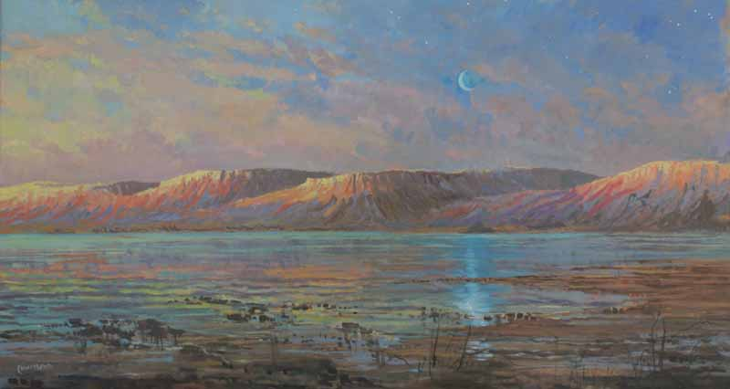 Sunrise, the Dead Sea