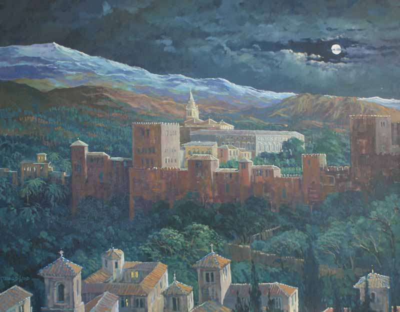 Moonlight, Alhambra