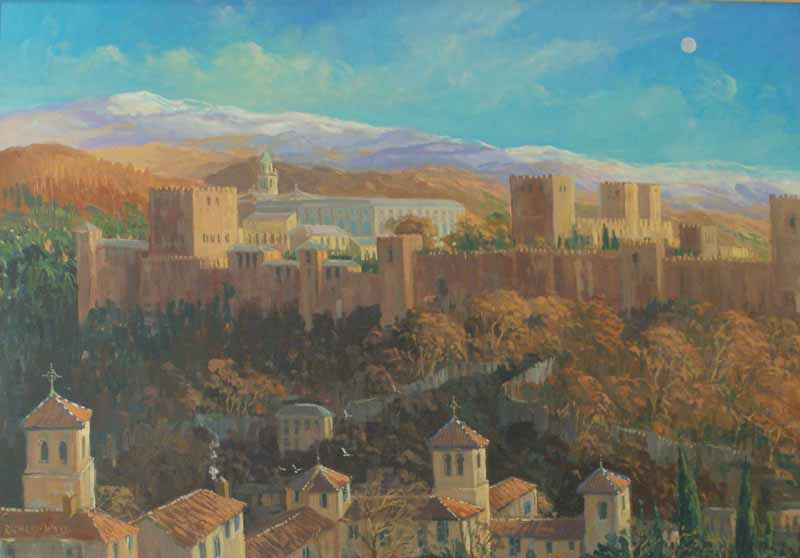 Alhambra, Winter view